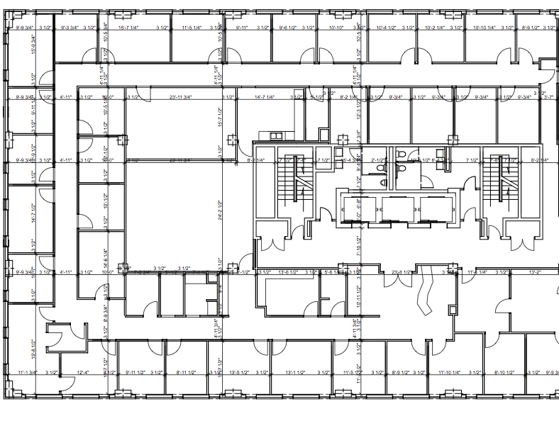 8th Floor Existing plan