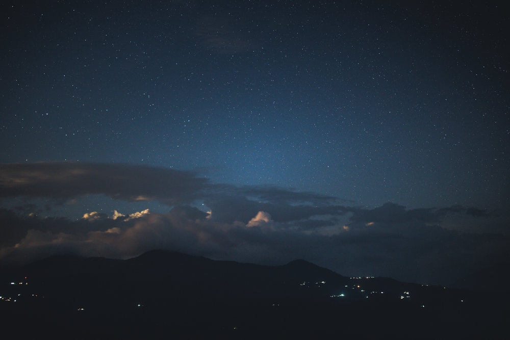 Evening falls over Bandipur...tomorrow we head to Pokhara. 35mm f1.4 13.0 sec ISO320