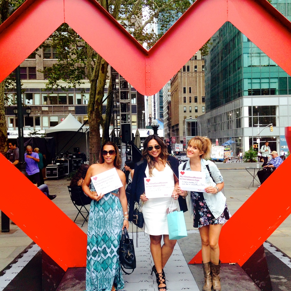 We <3 NYC!   After strolling around the city, we decided to catch up on the beauty rest and gear up for the next day!