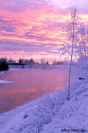 Alaska - Winter Sunset