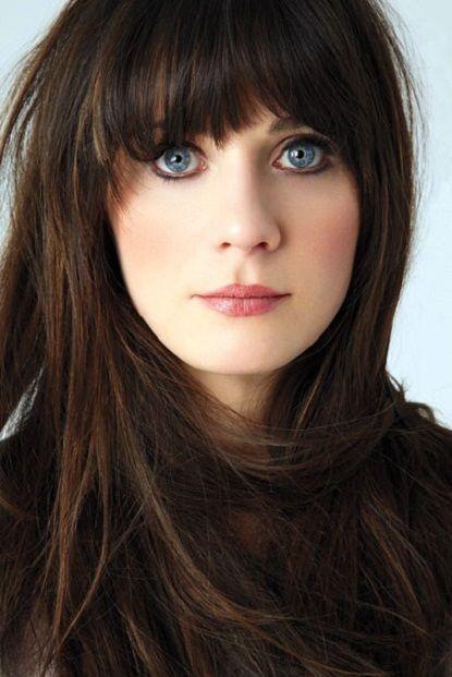 The beautiful Zoe Deschanel.