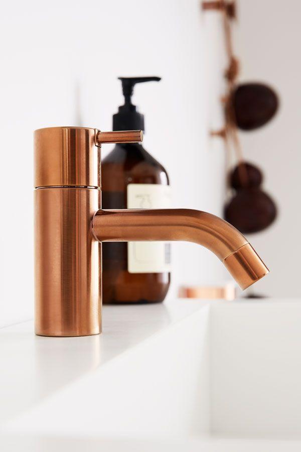 Beautiful copper tap