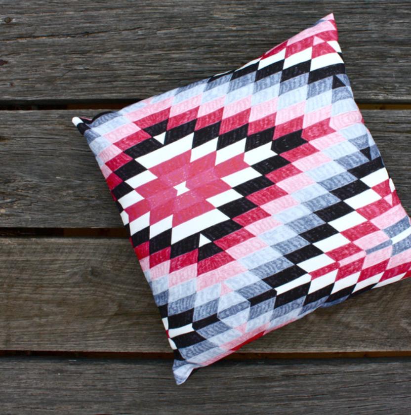 The Texta Print Five Cushion. Shop it  here!