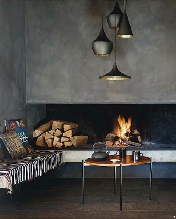 The Tom Dixon 'Beat' Range of Pendant Lighting in Gold & Matte Black.