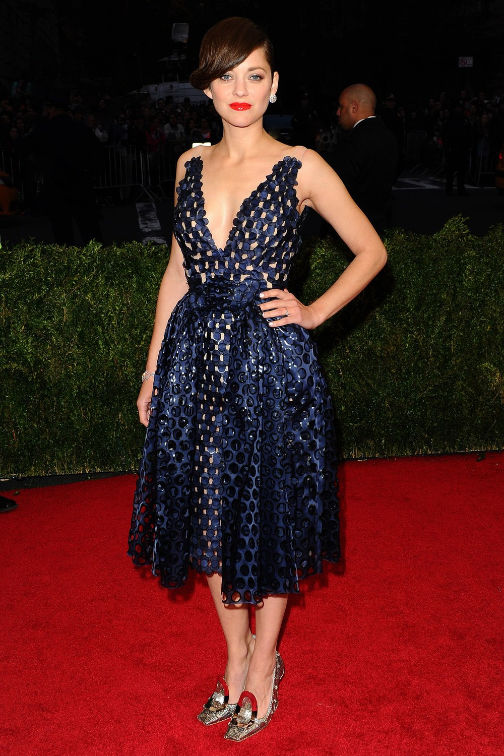 Marion Cotillard in a Dior Couture.