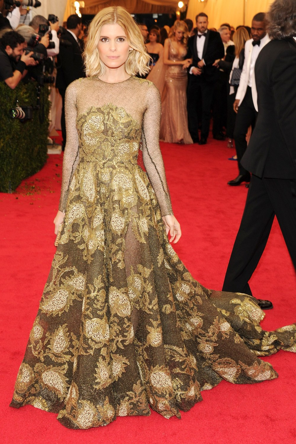 Kate Mara wore a Valentino Couture