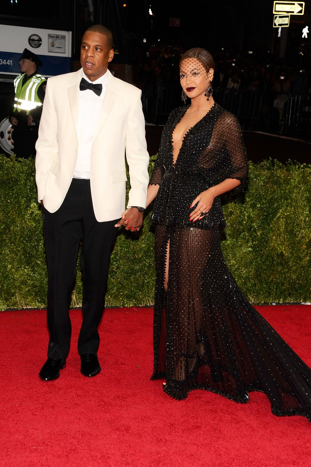 Jay-Z and Beyoncé both wore Givenchy