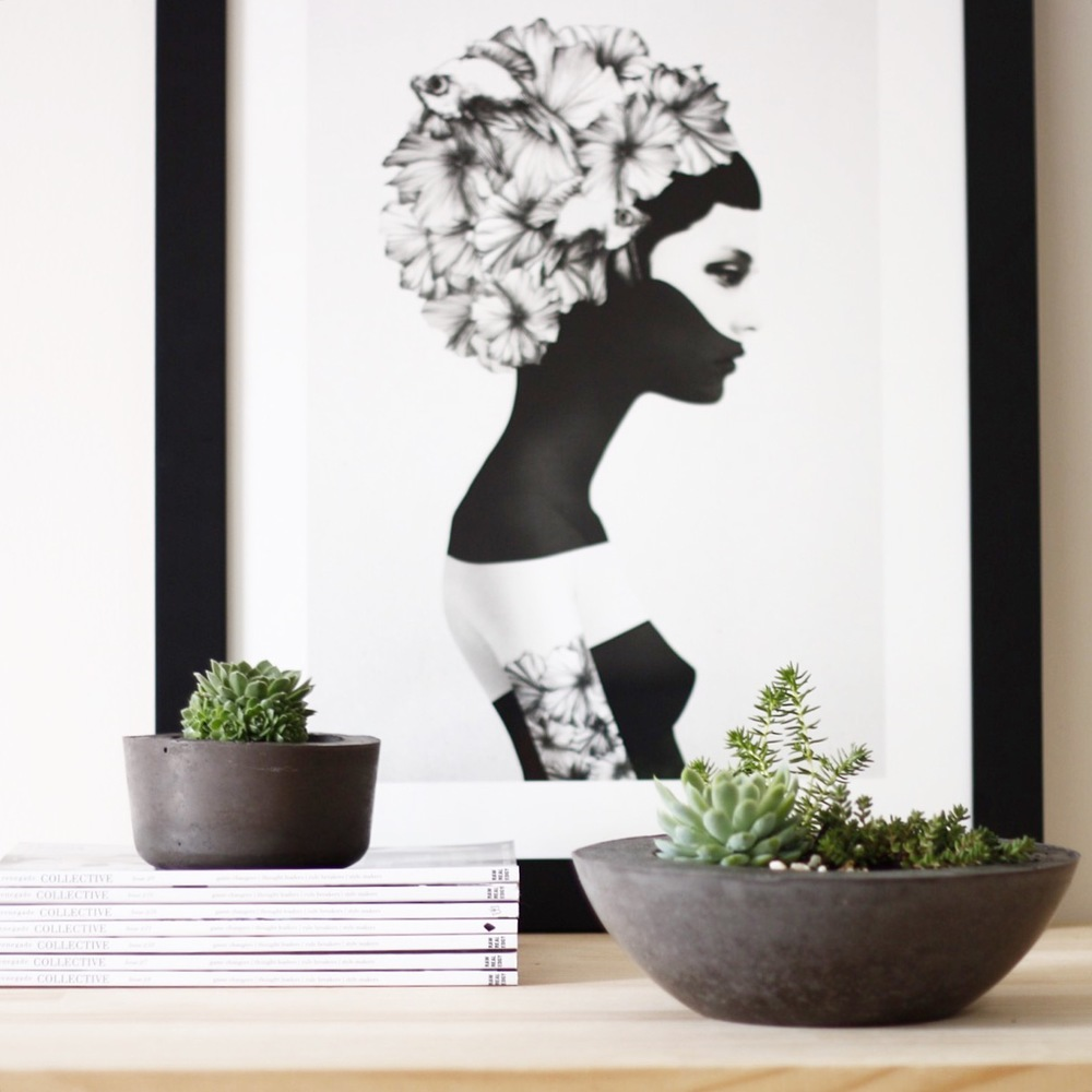 Product Photography & Styling  Concrete Planters -  BAYKO Homewares