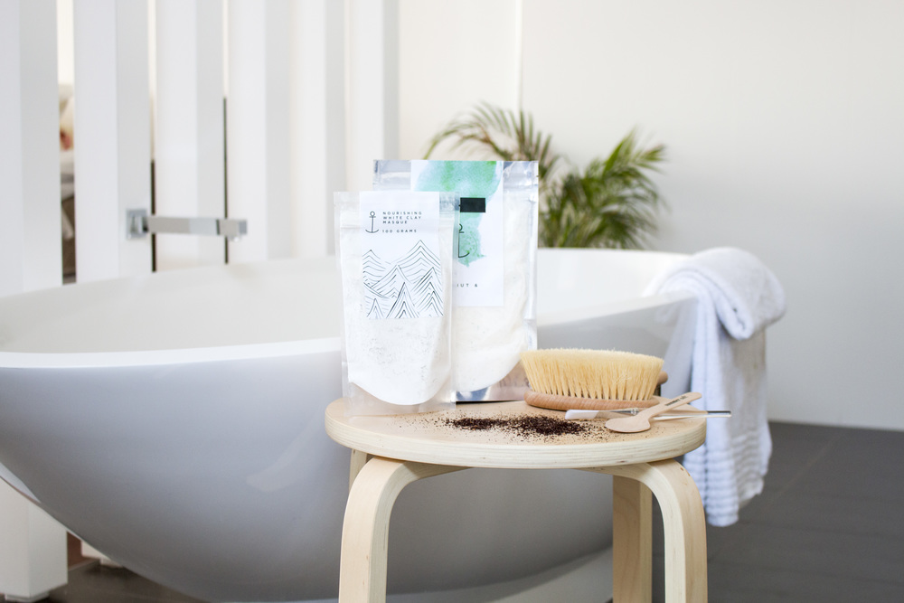 Product Photography & Styling   Scrub -   Summer Salt  for   Au Fait  Private Residence - Biggera Waters