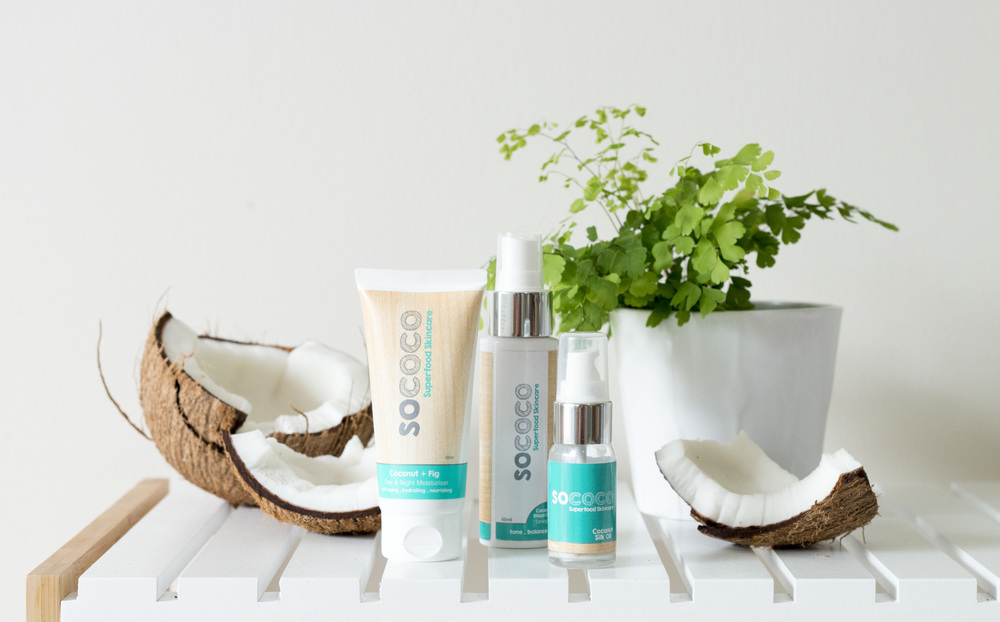 Product Photography & Styling     Skincare -  Sococo Skincare
