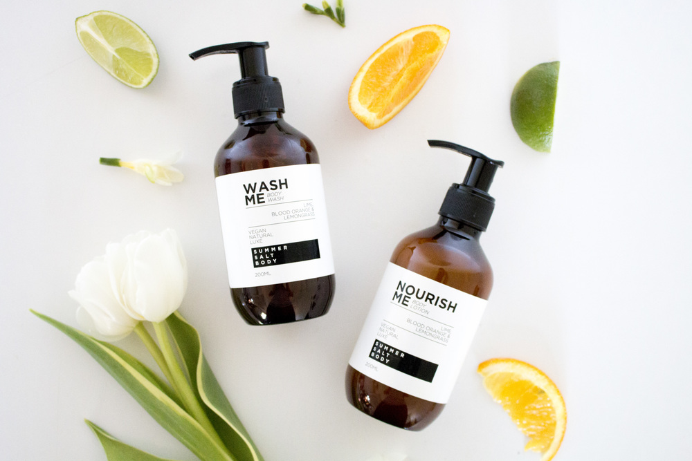 Product Styling & Photography Skincare -  Summer Salt