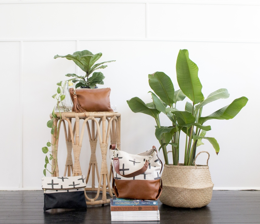 Product Photography & Styling  Bags -  Small World Dreams  Featuring furniture from  Au Fait