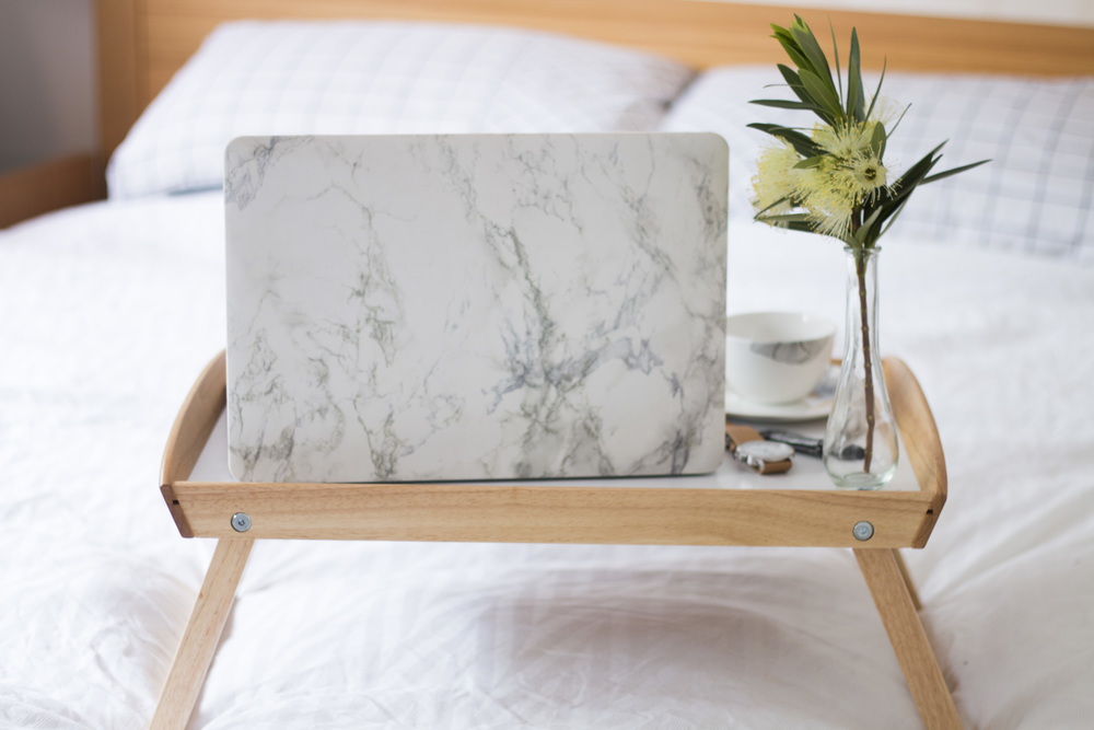 Product Photography & Styling Laptop Case - Spencer Street Store