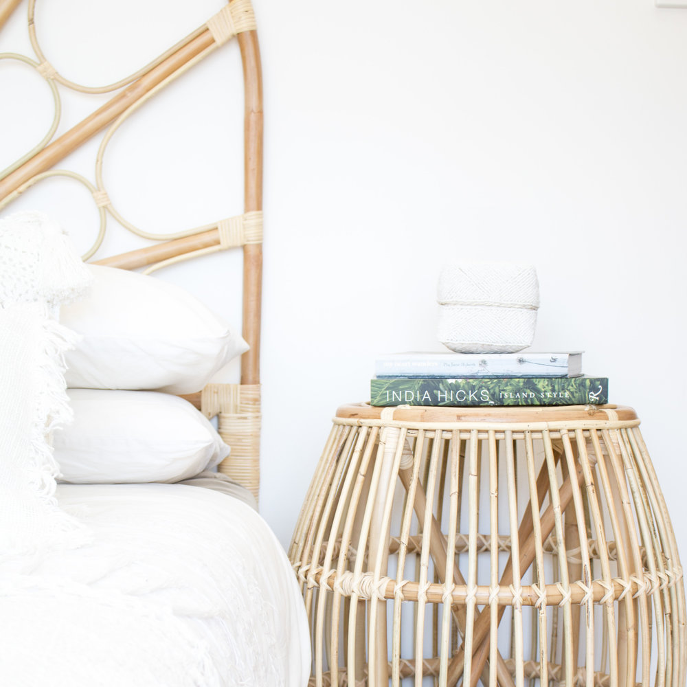 Product Photography & Styling Bedhead, side table and homewares -  Au Fait