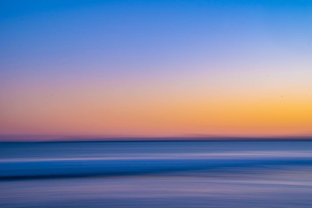 Vivid Ocean, Seven Mile Beach, Tasmania