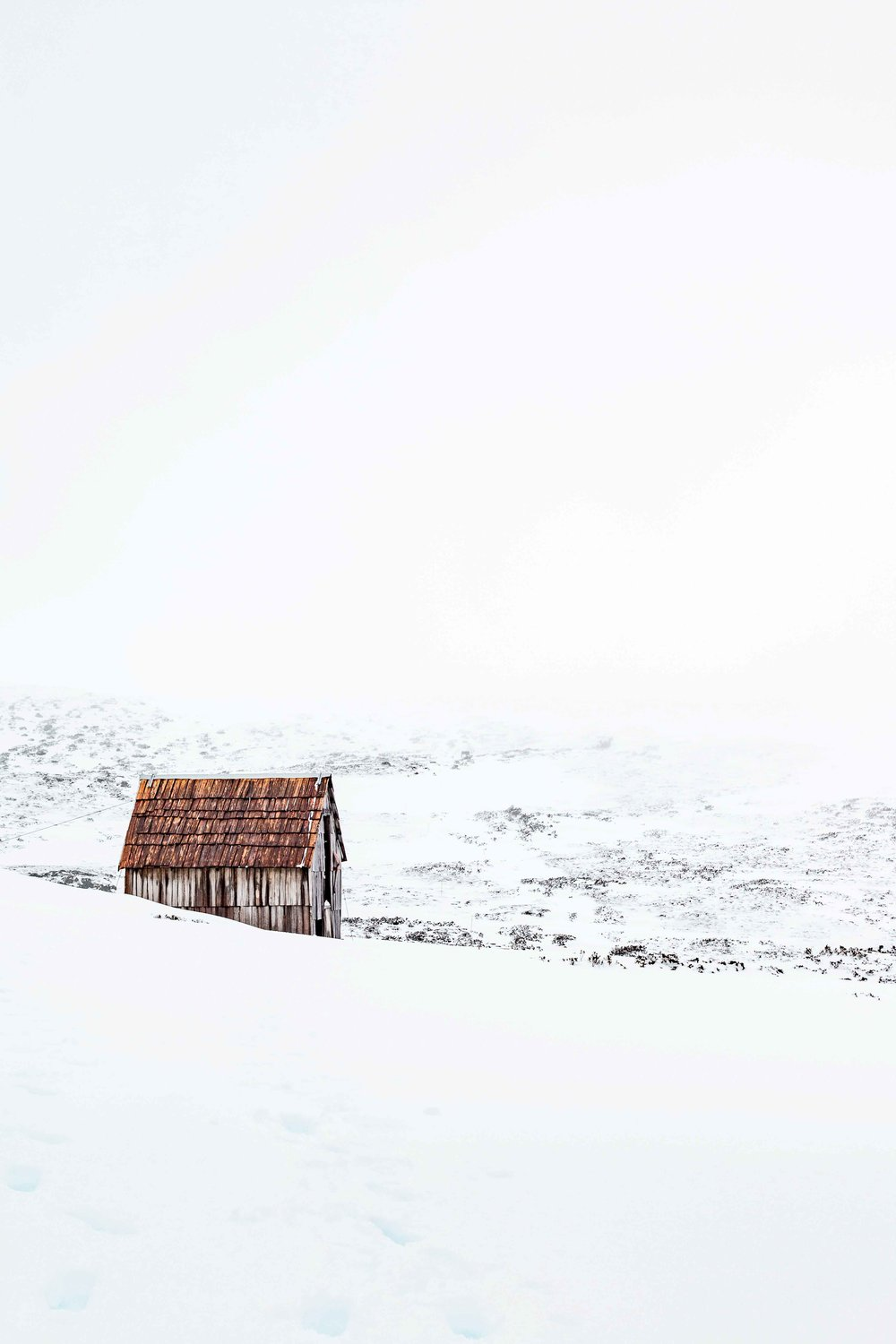 Snow Hut, Cradle Mountain, Tasmania