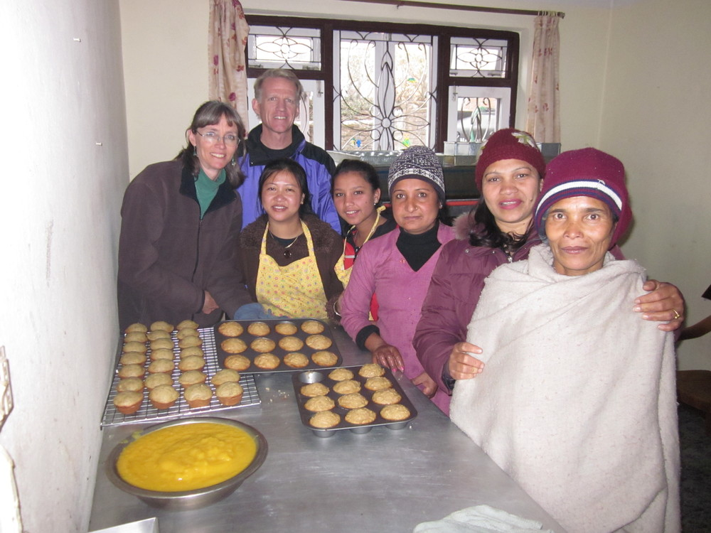The early days of our women's livelihood project