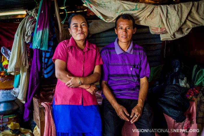 Pastor Lila and his wife and children still live in a tin shed since they lost their house in the earthquake. We need $5000 to help them rebuild their house in the village.