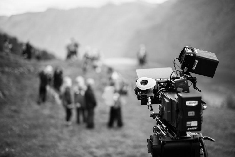 Slik ser det ut bak kamera på Sunnmøre. Foto: Lukasz Zamaro