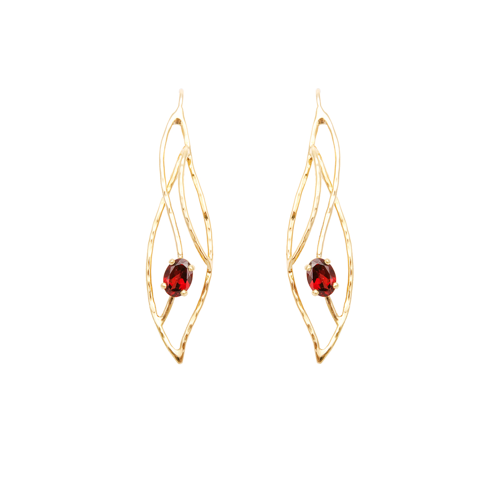 Garnet Earrings 1340 €