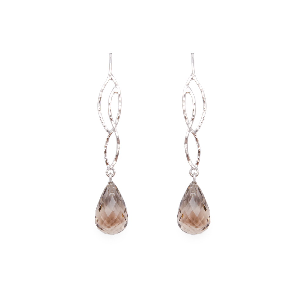 Smokey Quartz Earrings 740 €