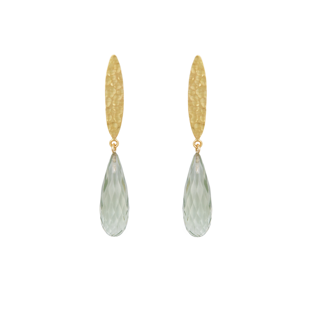 Prasiolith earrings 860 €