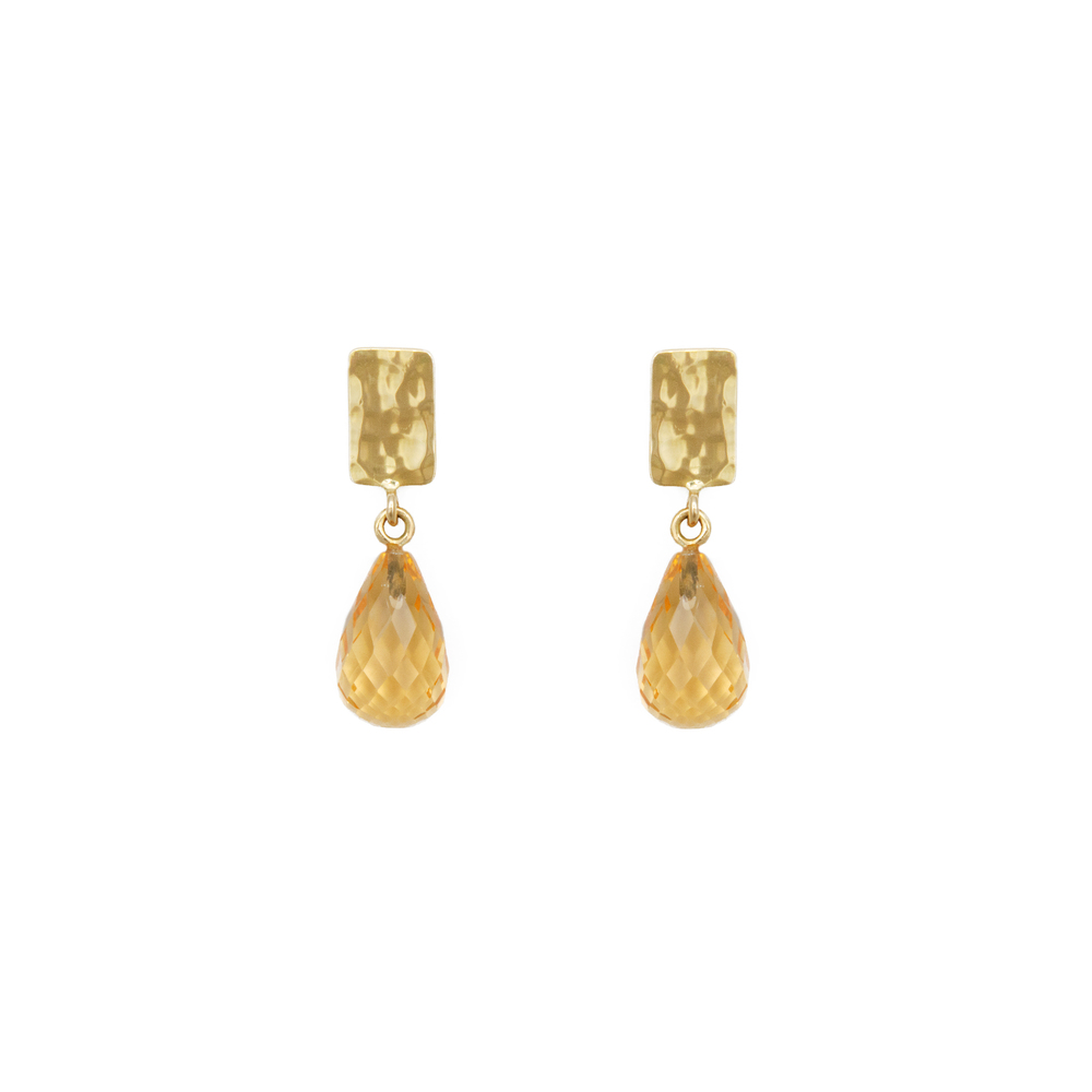 Citrine earrings 720 €