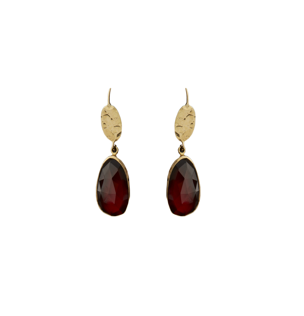 Garnet Earrings 1250 €