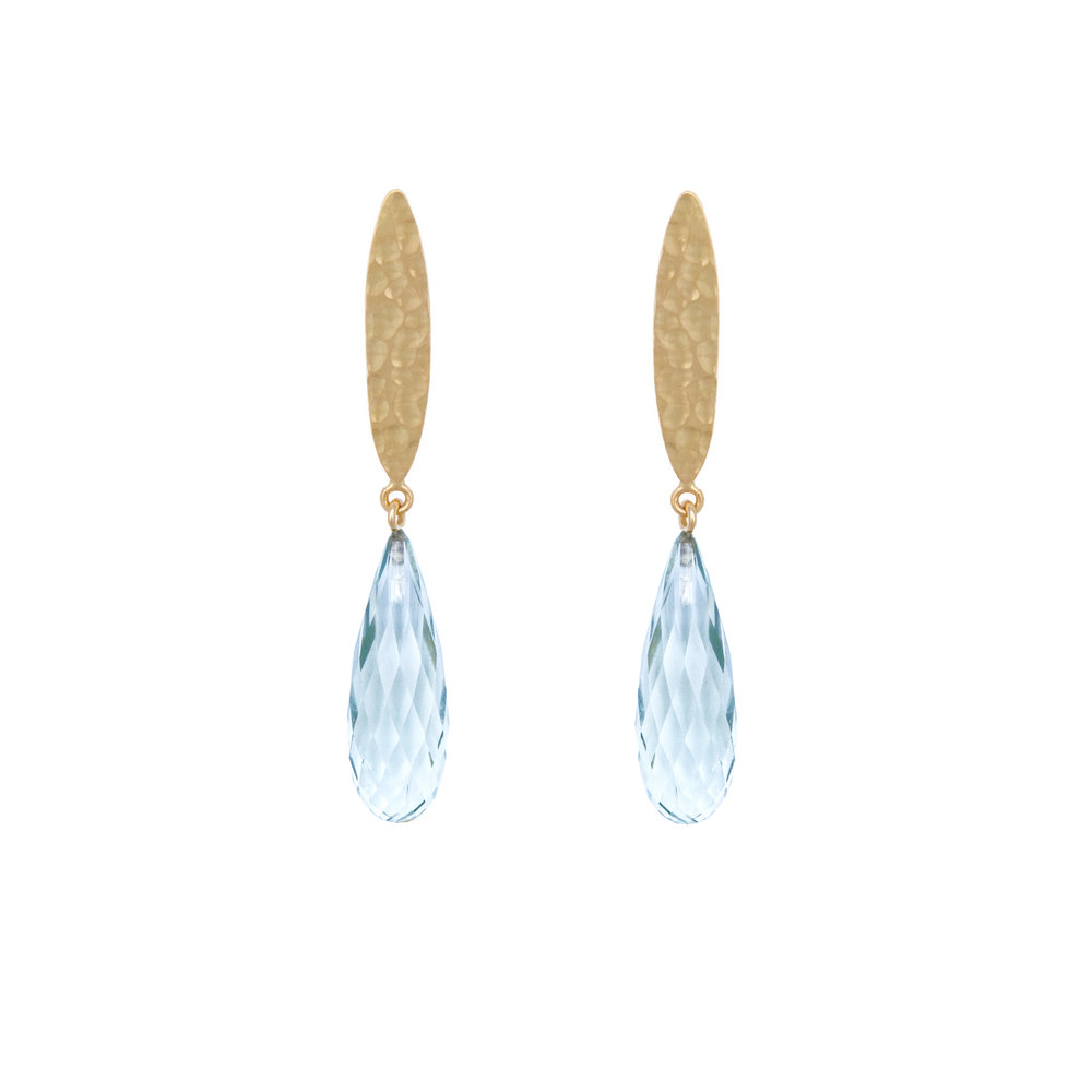 Topaz earrings 860 €