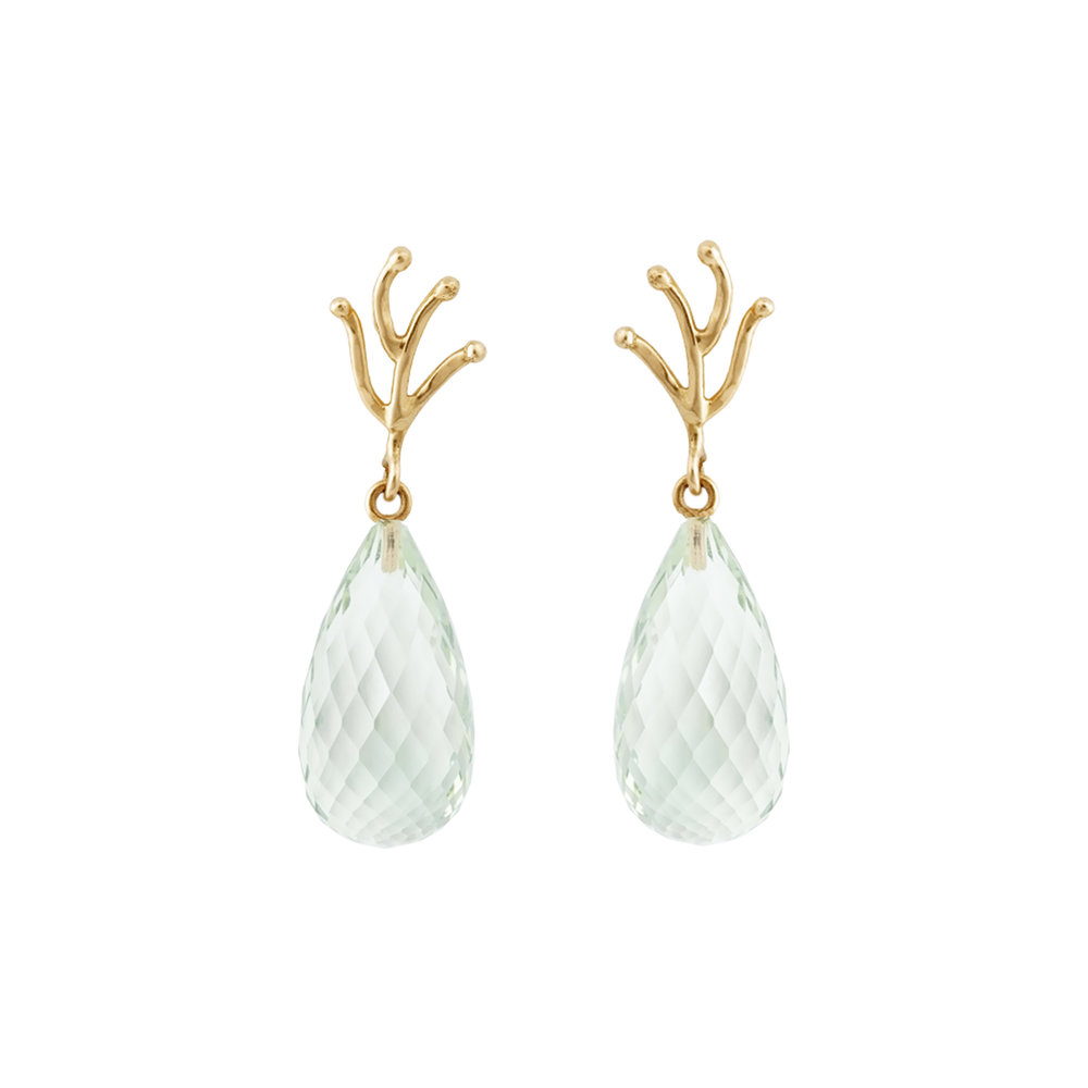 Prasiolith Earrings 890 €