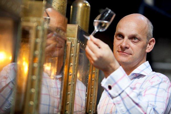 Sean Harrison, Master Distiller Plymouth Gin.