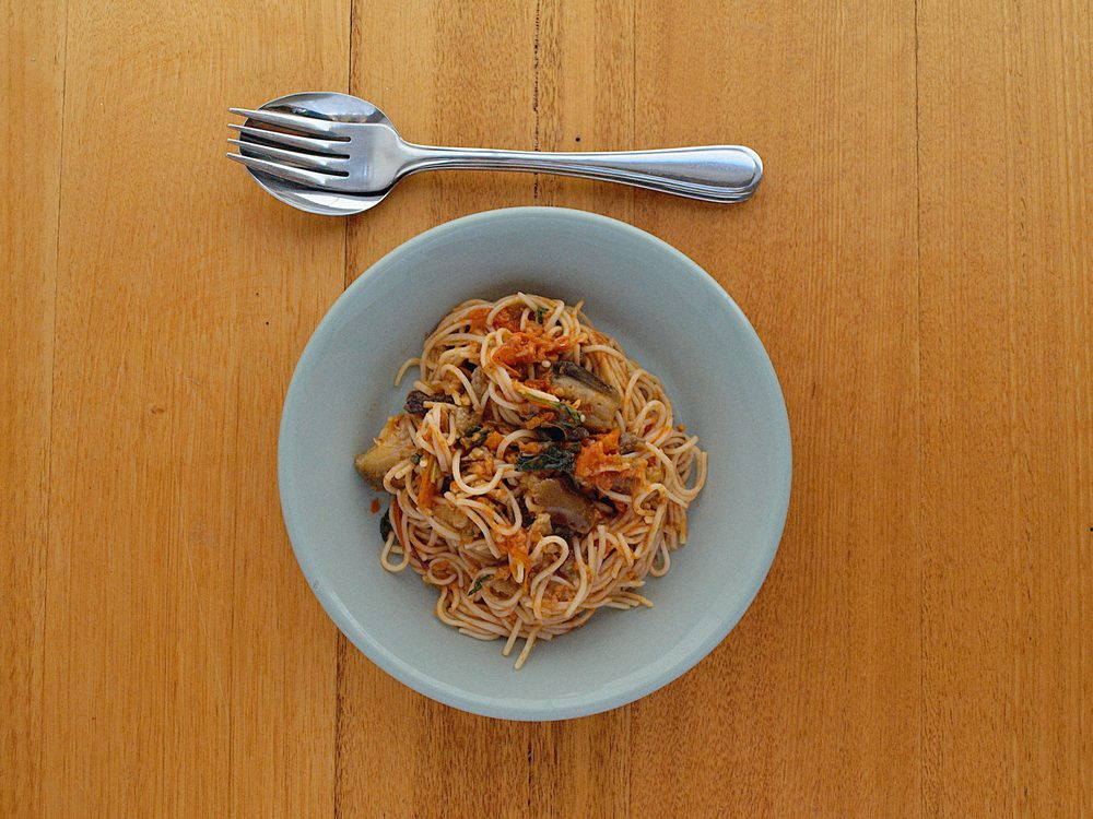 Chinese Eggplant Noodles