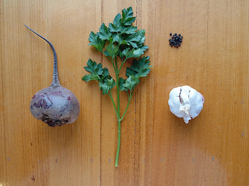 Balsamic Roasted Beetroot Ingredients