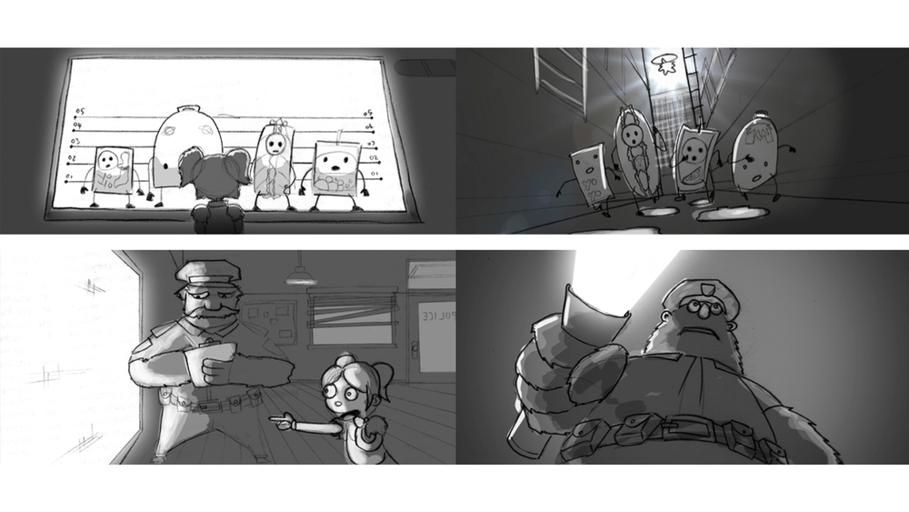 Picnic Studio - Subway - Storyboard