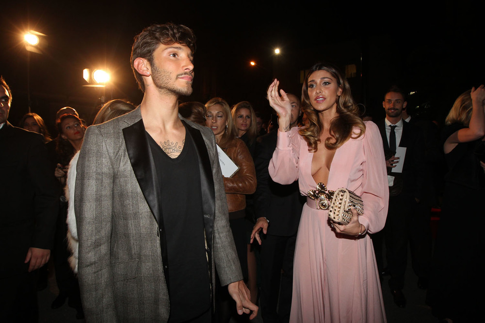 Stefano De Martino and Belen Rodriguez