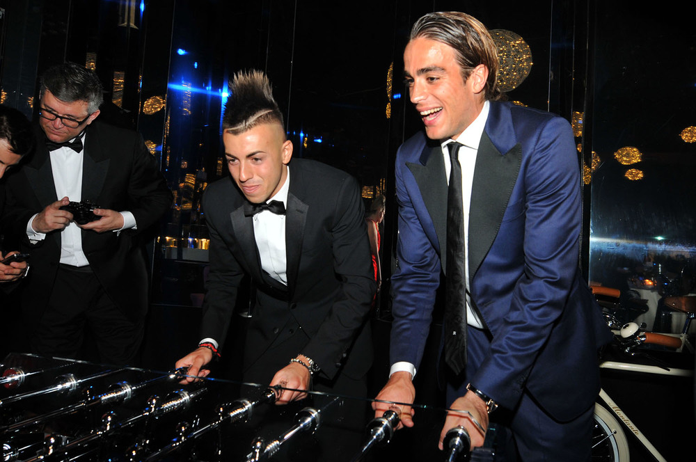 Stephan El Sharawii and Alessandro Matri