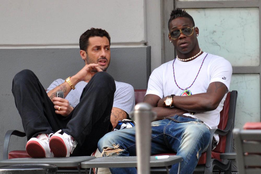 Fabrizio Corona and Mario Balotelli - bad boys