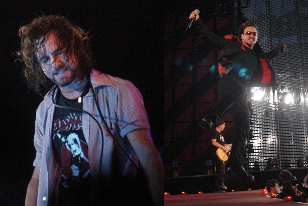Eddie Vedder - Bono Vox