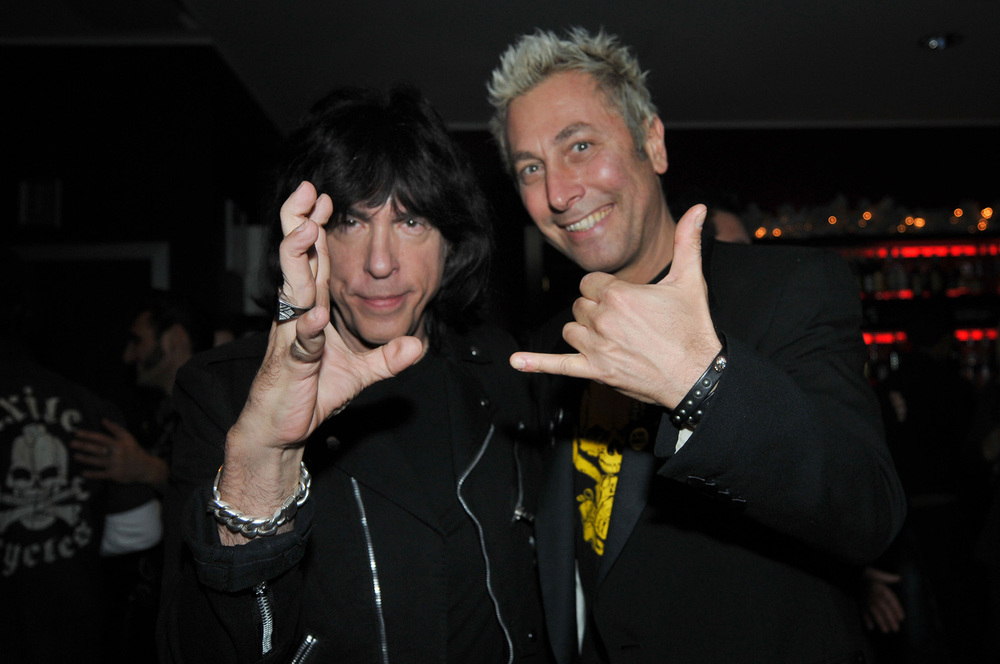 Marky Ramone and Ringo Dj