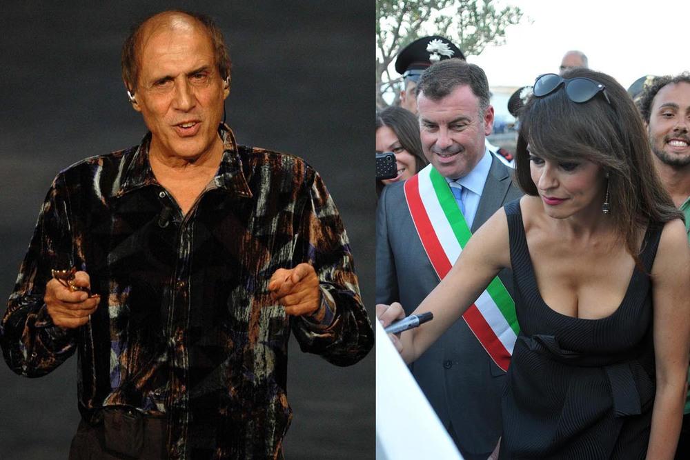 Adriano Celentano - Maria Grazia Cucinotta