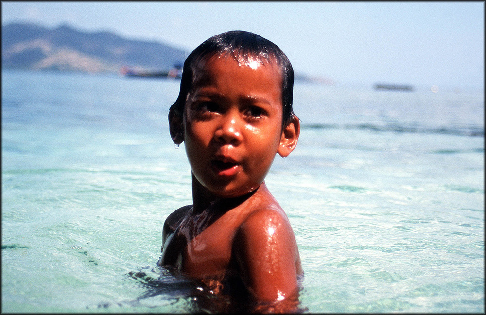 Indonesian child