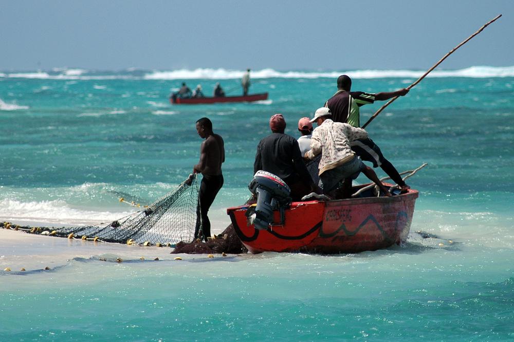 Fishermen, Mauritius