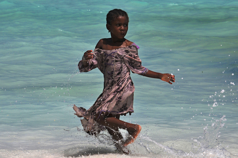 Child in Zanzibar