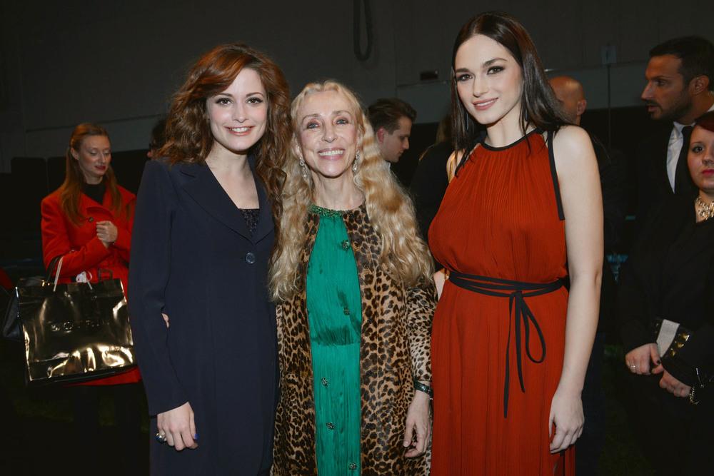 Giulia Gorietti, Franca Sozzani, Emanuela Postacchini