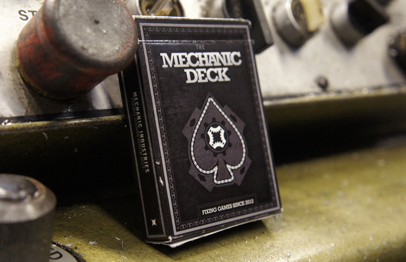 The Mechanic Deck  - Flip Book Animation