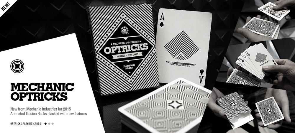 Optricks Deck by Mechanic Industries