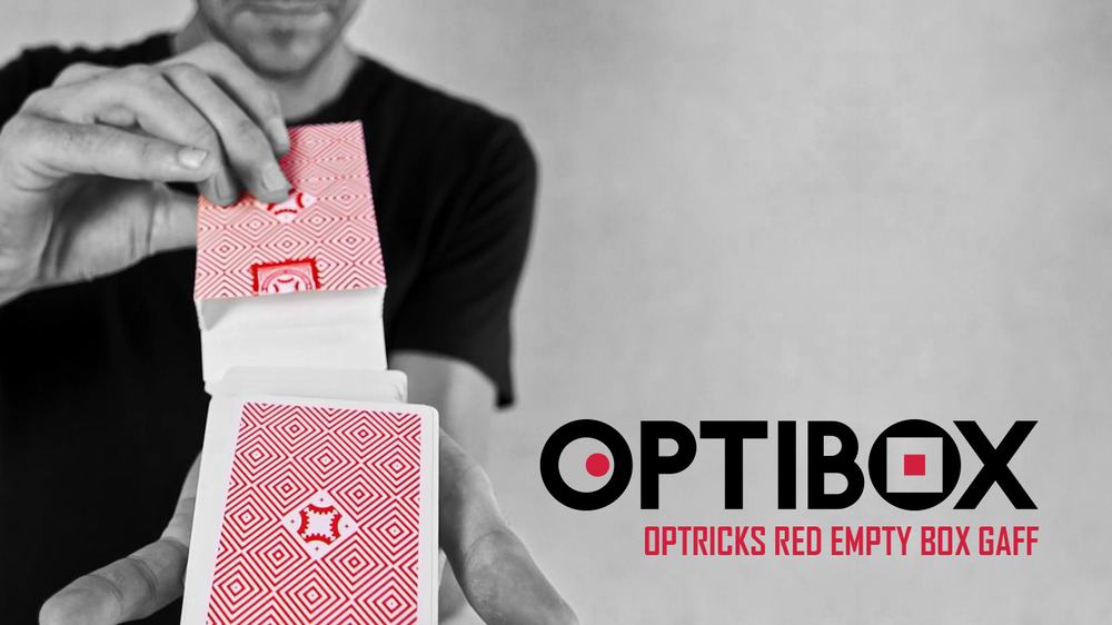 OPTIBOX    FOR OPTRICKS RED EDITION  LEARN NOW
