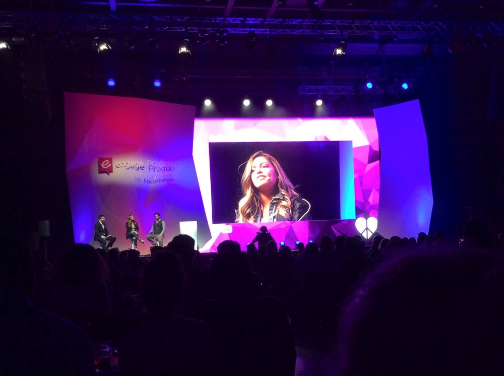 Bethany Mota live on stage