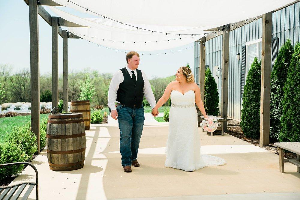 Chrisman Manor wedding in Oskaloosa Kansas