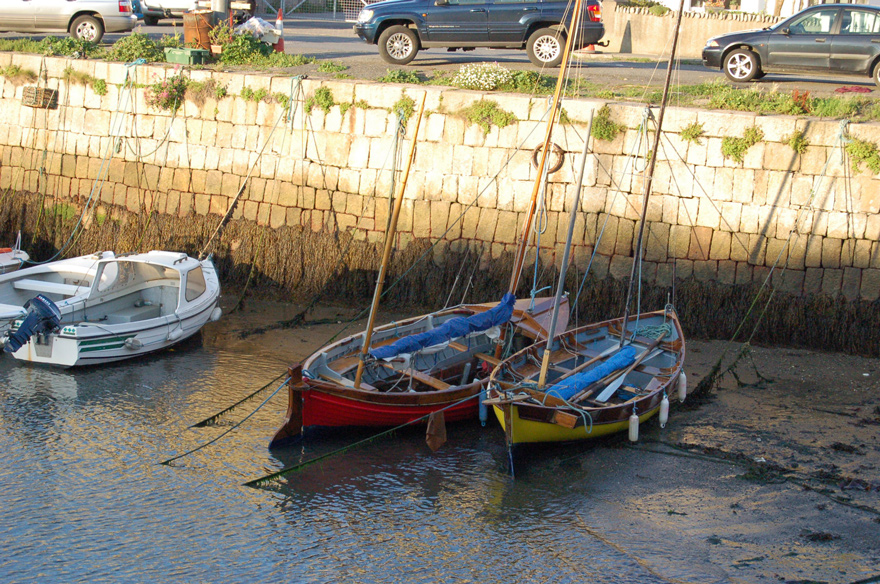 Boats at Bullock Harbour - 2007.  Click on Picture to Enlarge